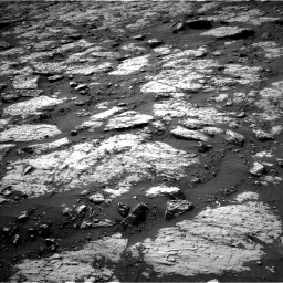 Nasa's Mars rover Curiosity acquired this image using its Left Navigation Camera on Sol 3079, at drive 1654, site number 87