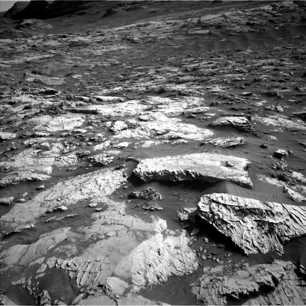 Nasa's Mars rover Curiosity acquired this image using its Left Navigation Camera on Sol 3079, at drive 1712, site number 87
