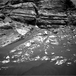 Nasa's Mars rover Curiosity acquired this image using its Right Navigation Camera on Sol 3079, at drive 1456, site number 87