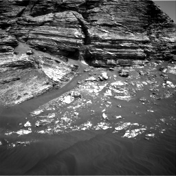 Nasa's Mars rover Curiosity acquired this image using its Right Navigation Camera on Sol 3079, at drive 1468, site number 87