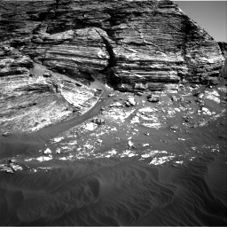 Nasa's Mars rover Curiosity acquired this image using its Right Navigation Camera on Sol 3079, at drive 1480, site number 87