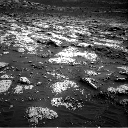 Nasa's Mars rover Curiosity acquired this image using its Right Navigation Camera on Sol 3079, at drive 1534, site number 87