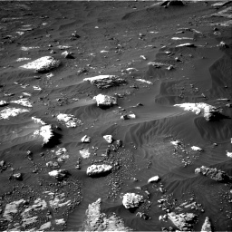 Nasa's Mars rover Curiosity acquired this image using its Right Navigation Camera on Sol 3079, at drive 1552, site number 87