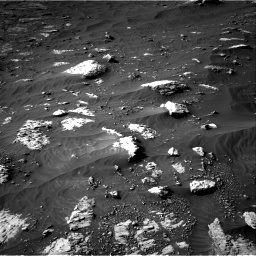 Nasa's Mars rover Curiosity acquired this image using its Right Navigation Camera on Sol 3079, at drive 1558, site number 87