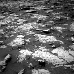 Nasa's Mars rover Curiosity acquired this image using its Right Navigation Camera on Sol 3079, at drive 1636, site number 87