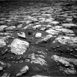 Nasa's Mars rover Curiosity acquired this image using its Right Navigation Camera on Sol 3079, at drive 1666, site number 87