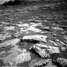 Nasa's Mars rover Curiosity acquired this image using its Right Navigation Camera on Sol 3079, at drive 1712, site number 87