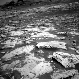 Nasa's Mars rover Curiosity acquired this image using its Left Navigation Camera on Sol 3081, at drive 1712, site number 87