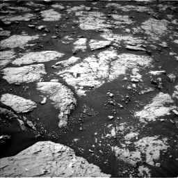Nasa's Mars rover Curiosity acquired this image using its Left Navigation Camera on Sol 3081, at drive 1772, site number 87