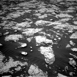Nasa's Mars rover Curiosity acquired this image using its Left Navigation Camera on Sol 3081, at drive 1820, site number 87