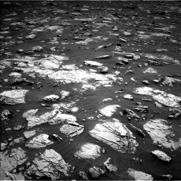 Nasa's Mars rover Curiosity acquired this image using its Left Navigation Camera on Sol 3081, at drive 1880, site number 87