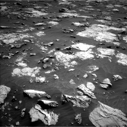 Nasa's Mars rover Curiosity acquired this image using its Left Navigation Camera on Sol 3081, at drive 1946, site number 87