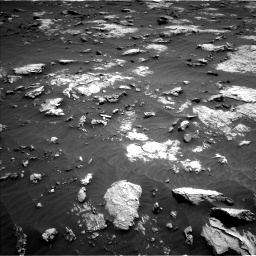 Nasa's Mars rover Curiosity acquired this image using its Left Navigation Camera on Sol 3081, at drive 1952, site number 87