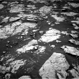 Nasa's Mars rover Curiosity acquired this image using its Right Navigation Camera on Sol 3081, at drive 1766, site number 87