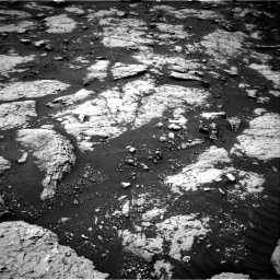 Nasa's Mars rover Curiosity acquired this image using its Right Navigation Camera on Sol 3081, at drive 1772, site number 87