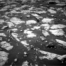 Nasa's Mars rover Curiosity acquired this image using its Right Navigation Camera on Sol 3081, at drive 1790, site number 87