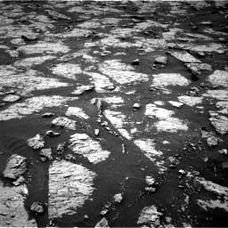 Nasa's Mars rover Curiosity acquired this image using its Right Navigation Camera on Sol 3081, at drive 1802, site number 87