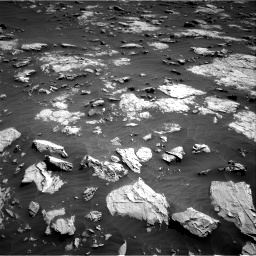 Nasa's Mars rover Curiosity acquired this image using its Right Navigation Camera on Sol 3081, at drive 1934, site number 87