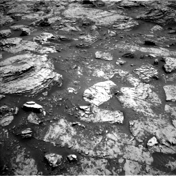 Nasa's Mars rover Curiosity acquired this image using its Left Navigation Camera on Sol 3083, at drive 2150, site number 87