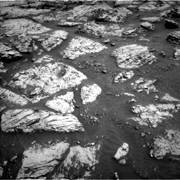 Nasa's Mars rover Curiosity acquired this image using its Left Navigation Camera on Sol 3083, at drive 2180, site number 87