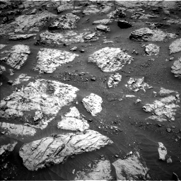 Nasa's Mars rover Curiosity acquired this image using its Left Navigation Camera on Sol 3083, at drive 2198, site number 87