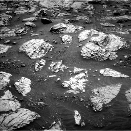 Nasa's Mars rover Curiosity acquired this image using its Left Navigation Camera on Sol 3083, at drive 2204, site number 87