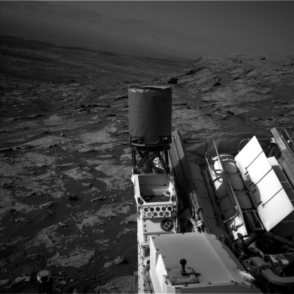 Nasa's Mars rover Curiosity acquired this image using its Left Navigation Camera on Sol 3083, at drive 2214, site number 87