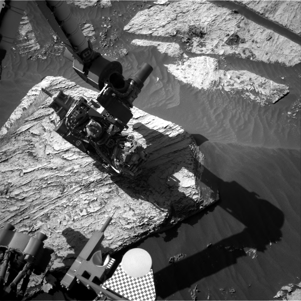 Nasa's Mars rover Curiosity acquired this image using its Right Navigation Camera on Sol 3083, at drive 1958, site number 87