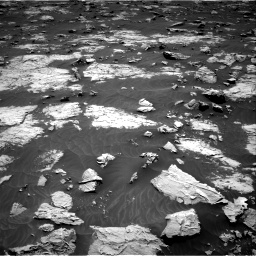 Nasa's Mars rover Curiosity acquired this image using its Right Navigation Camera on Sol 3083, at drive 1970, site number 87