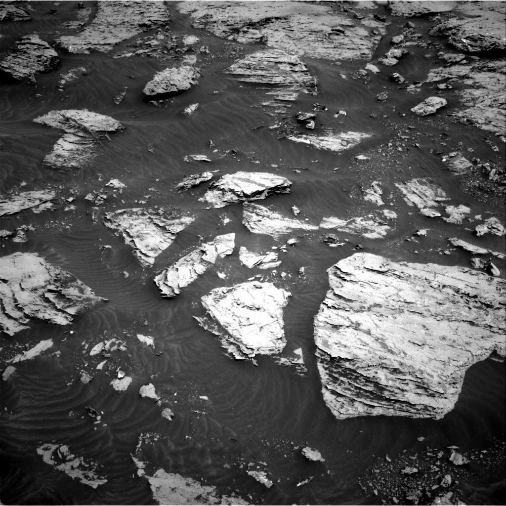 Nasa's Mars rover Curiosity acquired this image using its Right Navigation Camera on Sol 3083, at drive 2150, site number 87