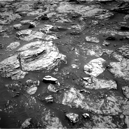 Nasa's Mars rover Curiosity acquired this image using its Right Navigation Camera on Sol 3083, at drive 2156, site number 87