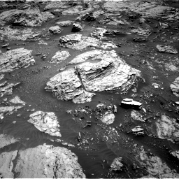 Nasa's Mars rover Curiosity acquired this image using its Right Navigation Camera on Sol 3083, at drive 2162, site number 87