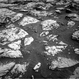 Nasa's Mars rover Curiosity acquired this image using its Right Navigation Camera on Sol 3083, at drive 2180, site number 87