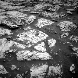 Nasa's Mars rover Curiosity acquired this image using its Right Navigation Camera on Sol 3083, at drive 2186, site number 87