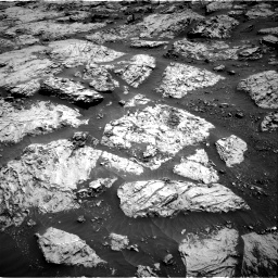 Nasa's Mars rover Curiosity acquired this image using its Right Navigation Camera on Sol 3083, at drive 2192, site number 87