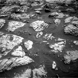 Nasa's Mars rover Curiosity acquired this image using its Right Navigation Camera on Sol 3083, at drive 2198, site number 87