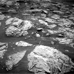 Nasa's Mars rover Curiosity acquired this image using its Right Navigation Camera on Sol 3083, at drive 2214, site number 87