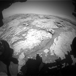 Nasa's Mars rover Curiosity acquired this image using its Front Hazard Avoidance Camera (Front Hazcam) on Sol 3086, at drive 2466, site number 87