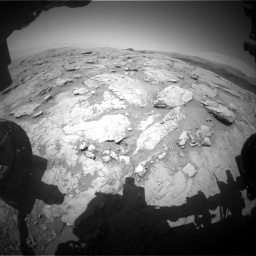 Nasa's Mars rover Curiosity acquired this image using its Front Hazard Avoidance Camera (Front Hazcam) on Sol 3086, at drive 2490, site number 87