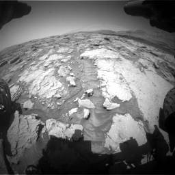 Nasa's Mars rover Curiosity acquired this image using its Front Hazard Avoidance Camera (Front Hazcam) on Sol 3086, at drive 2376, site number 87