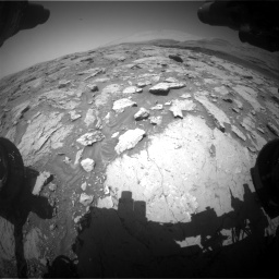 Nasa's Mars rover Curiosity acquired this image using its Front Hazard Avoidance Camera (Front Hazcam) on Sol 3086, at drive 2394, site number 87