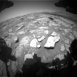 Nasa's Mars rover Curiosity acquired this image using its Front Hazard Avoidance Camera (Front Hazcam) on Sol 3086, at drive 2400, site number 87