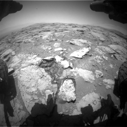 Nasa's Mars rover Curiosity acquired this image using its Front Hazard Avoidance Camera (Front Hazcam) on Sol 3086, at drive 2418, site number 87