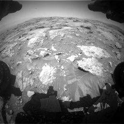 Nasa's Mars rover Curiosity acquired this image using its Front Hazard Avoidance Camera (Front Hazcam) on Sol 3086, at drive 2430, site number 87