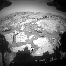 Nasa's Mars rover Curiosity acquired this image using its Front Hazard Avoidance Camera (Front Hazcam) on Sol 3086, at drive 2454, site number 87