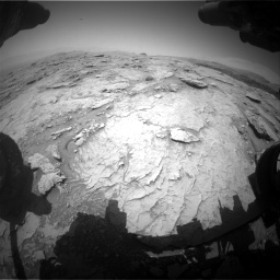 Nasa's Mars rover Curiosity acquired this image using its Front Hazard Avoidance Camera (Front Hazcam) on Sol 3086, at drive 2478, site number 87