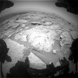 Nasa's Mars rover Curiosity acquired this image using its Front Hazard Avoidance Camera (Front Hazcam) on Sol 3086, at drive 2508, site number 87