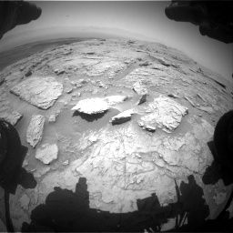 Nasa's Mars rover Curiosity acquired this image using its Front Hazard Avoidance Camera (Front Hazcam) on Sol 3086, at drive 2514, site number 87
