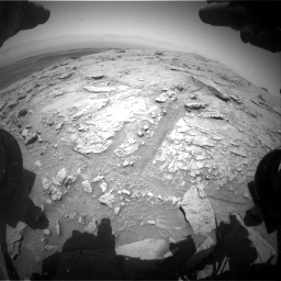 Nasa's Mars rover Curiosity acquired this image using its Front Hazard Avoidance Camera (Front Hazcam) on Sol 3086, at drive 2520, site number 87