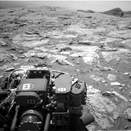 Nasa's Mars rover Curiosity acquired this image using its Left Navigation Camera on Sol 3086, at drive 2394, site number 87